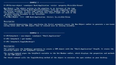 New-Object Powershell