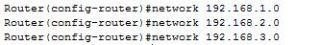 Configure RIP protocol