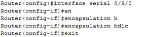 interface encapsulation