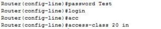 vty access-list