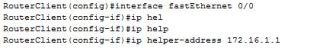 ip helper address
