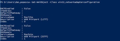 Get-wmiobject Powershell