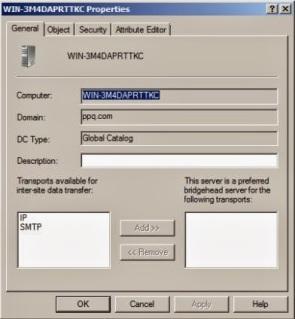 Domain Controller Properties