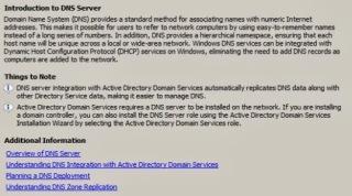 DNS description