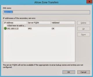 Allow zone transfers