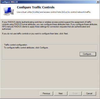 Configure Traffic Controls