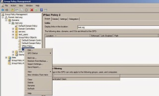 Group Policy Management Console