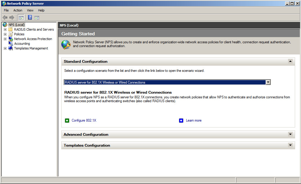 How to configure a Windows RADIUS server for 802.1X Wireless or ...