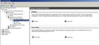 Windows Security Health Validator
