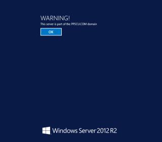 Windows Server 2012 interactive message at logon