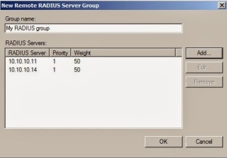 Remote RADIUS Server Group