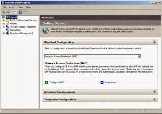 Configure NAP