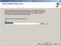Windows Deployment Services Wizard