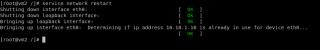 Linux service command