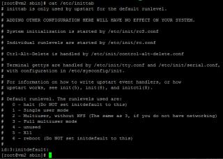 Linux runlevel