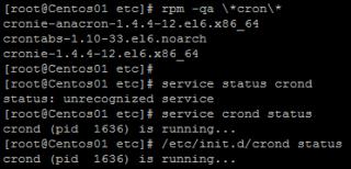 Linux cron