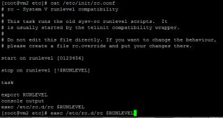 Linux runlevels