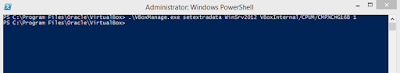 Windows Server 2012 error