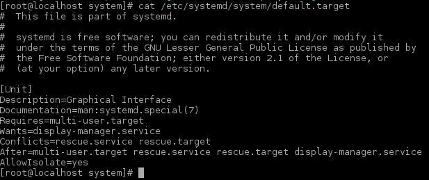 default-target